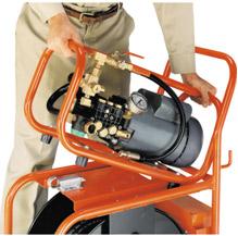 М-1600 имеет съемный блок для работы в узких местах