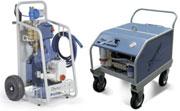 Гидродинамические машины Dynajet, давление 150-500 бар с электроприводом