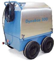 Модуль нагрева воды для очистки горячей водой, а также разморозки труб Dynabox