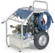 Гидродинамические машины Dynajet, давление 150-500 бар с бензоприводом