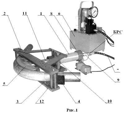 Гидравлический трубогиб своими руками чертеж