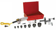 1045/TF - Профессиональный набор для муфтовой (раструбной) сварки труб и фитингов из полипропилена, полиэтилена и других термопластиков